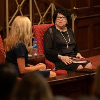 Sonia Sotomayor with Margaret McMullan