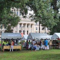 Exhibitors on the Lawn